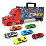 Handheld Truck Model Toy Cars Set