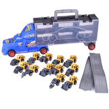 Kids Simulation Car Container Model Toy Set