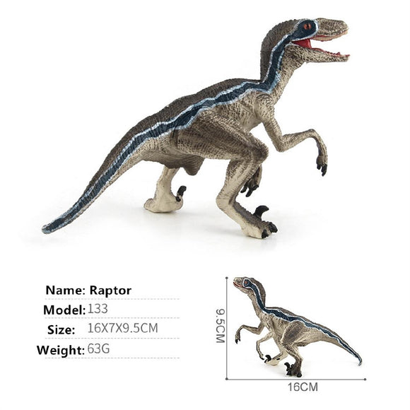 Jurassic Dinosaur Velociraptor Toy for Kids