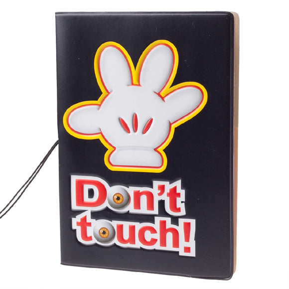 Cartoon Palm Pattern Passport Holder