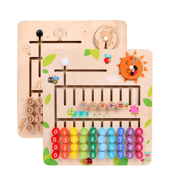 Wooden Montessori Math Education Toy
