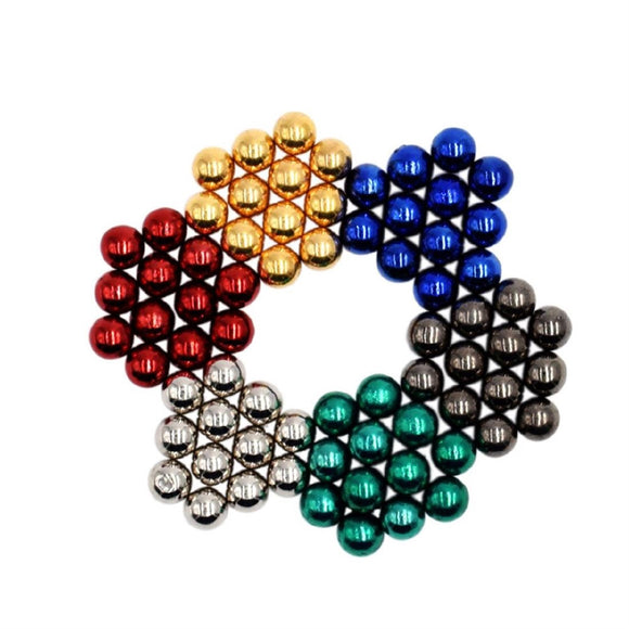Magnetic Magic Beads Balls Puzzle Educational Toy