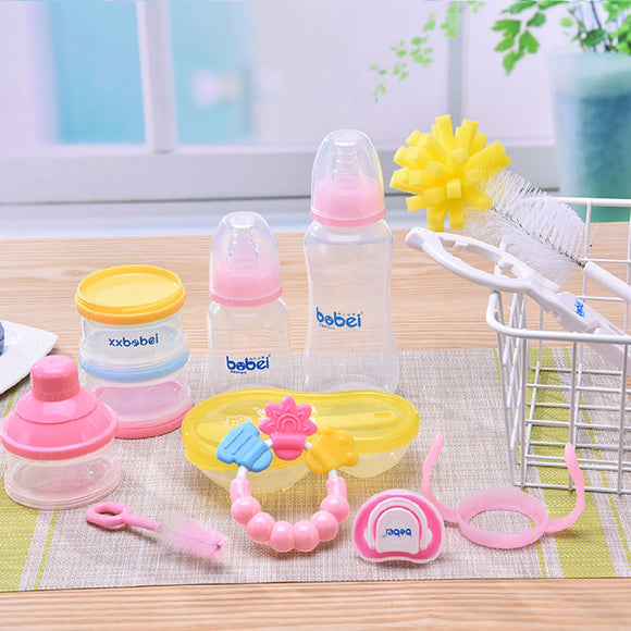 Baby Bottle Feeding Set