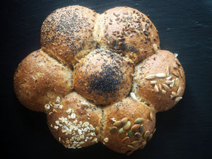 Bun Sun Flower (Wholemeal)