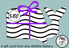 Load image into Gallery viewer, Zebra-Whale Gift Card