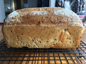 Healthy Multigrain Bread Loaf