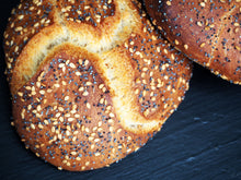 Load image into Gallery viewer, Poppy & Sesame Seed Roll