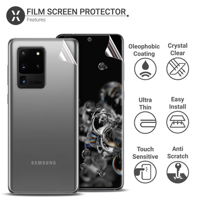 Protection TPU Film for Samsung Galaxy S20 Series Screen Protector Front + Back