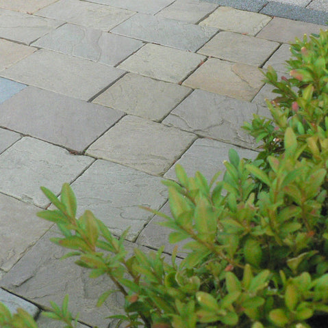 Buff/Brown Riven Block Paving