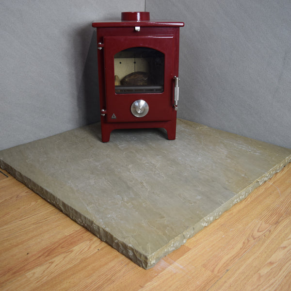 Brown Sandstone Hearth 1000x1000x40mm