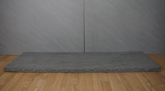 Grey Sandstone Hearth 1500x450x40mm