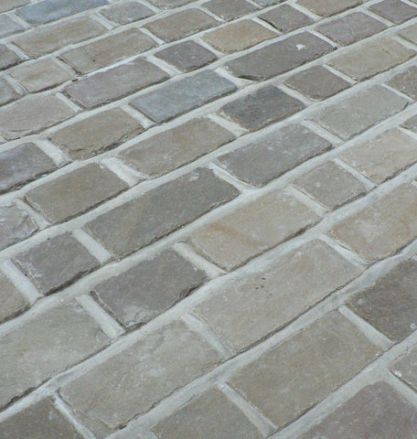 Victorian Buff/Brown Random Setts