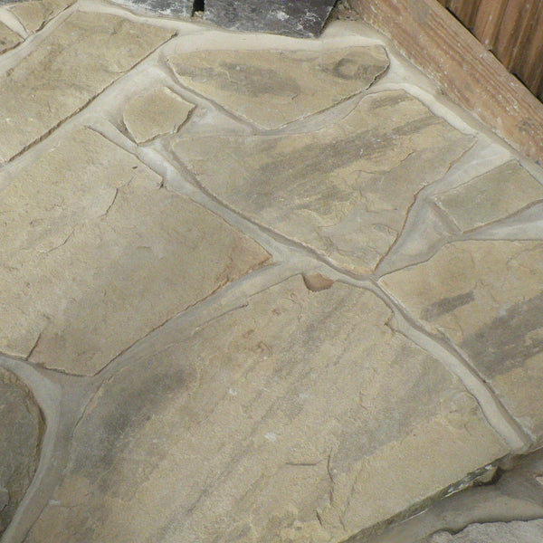 Yorkstone Riven Crazy Paving
