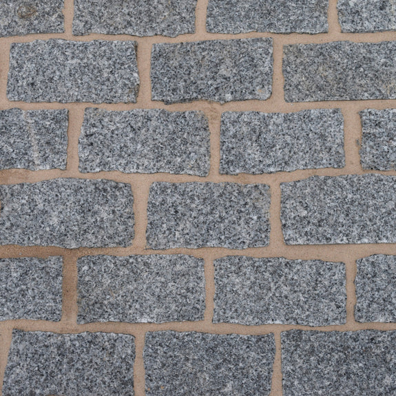 Silver Grey Granite Sett