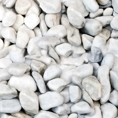 White Pebbles Bulk Bag
