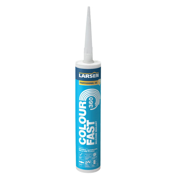 Larsen Colourfast 360 Silicone Sealant