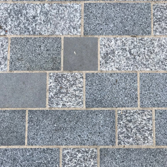 Irish Mist Granite Block Paving m2