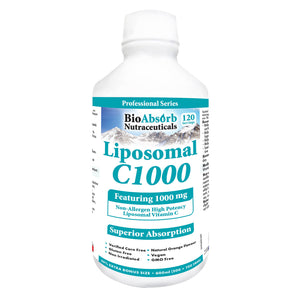 Liposomal Vitamin C 1000 mg - Superior Absorption, Non GMO, Corn-Free