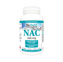 Load image into Gallery viewer, NAC Supplement 600 mg N-Acetyl-L-Cysteine, 200 Veggie Capsules. Promotes Glutathione Synthesis.