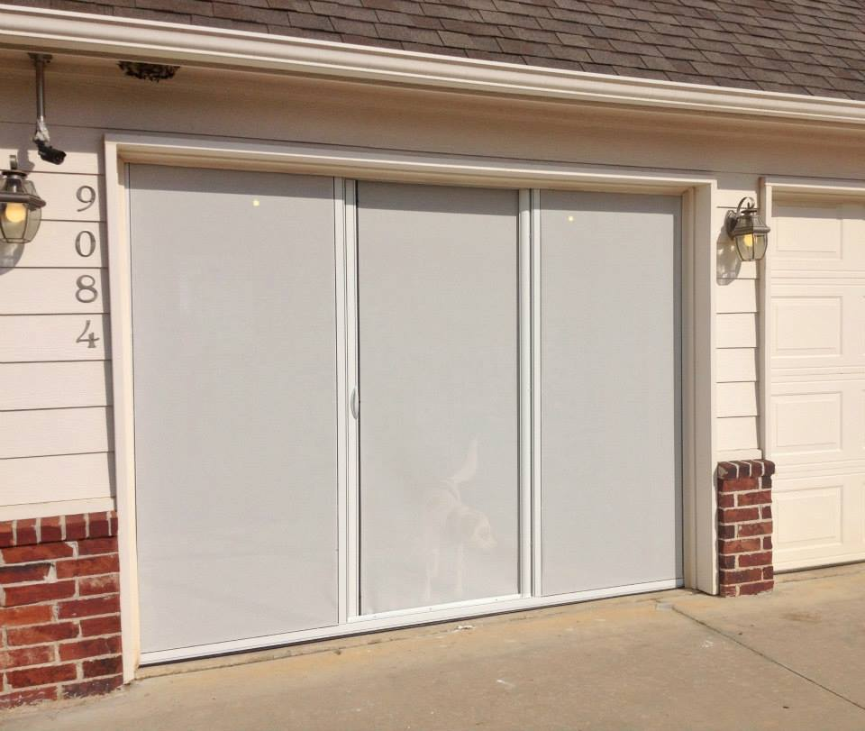 12x7 Units For Over Sized Single Car Garages Garage Screen Doors More