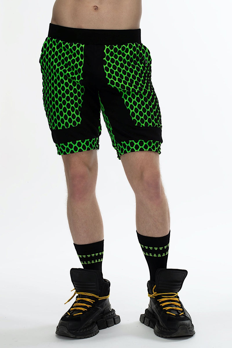 Fusion Jogger Shorts Electric Green Featured Image