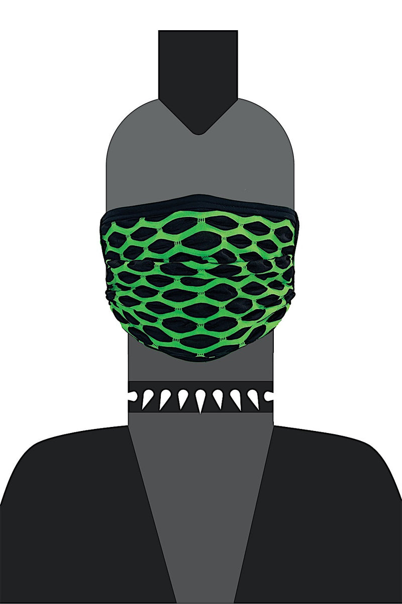 UV GREEN HEX MASK Featured Image