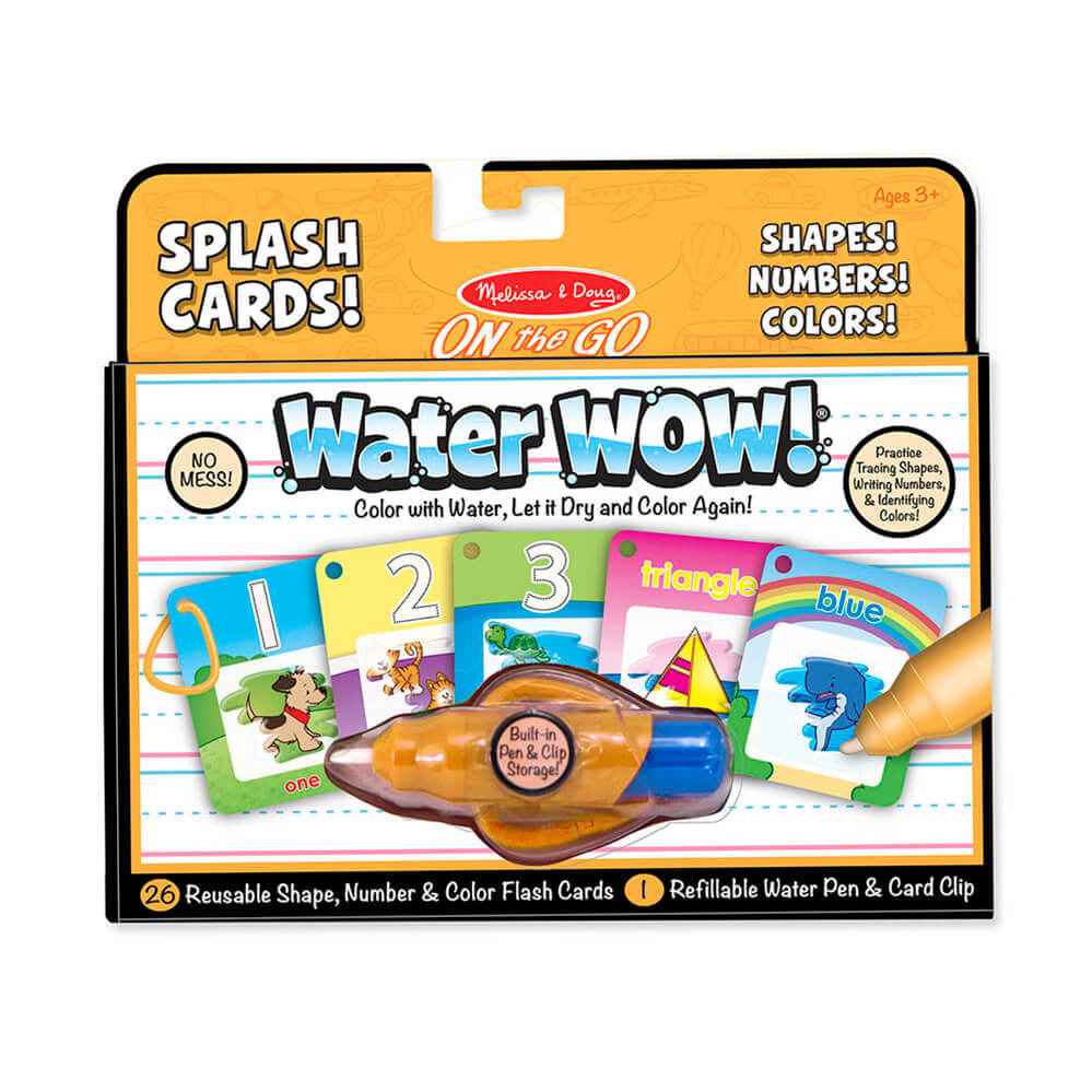 Melissa and Doug Water Wow Numbers, Colours & Shapes MOQ2