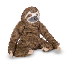 Load image into Gallery viewer, Melissa and Doug Sloth Plush