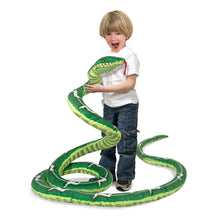 Load image into Gallery viewer, Melissa and Doug Snake Plush