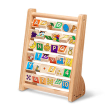 Load image into Gallery viewer, Melissa and Doug ABC/123 Abacus