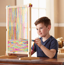 Load image into Gallery viewer, Melissa and Doug Multi Craft Weaving Loom