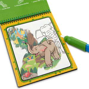 Melissa and Doug Water Wow Jungle MOQ6