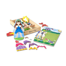 Load image into Gallery viewer, Melissa and Doug Princess Magnetic Dressup