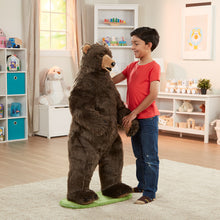 Load image into Gallery viewer, Melissa and Doug Grizzly Bear