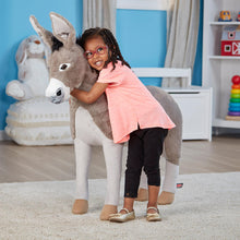 Load image into Gallery viewer, Melissa and Doug Donkey Plush