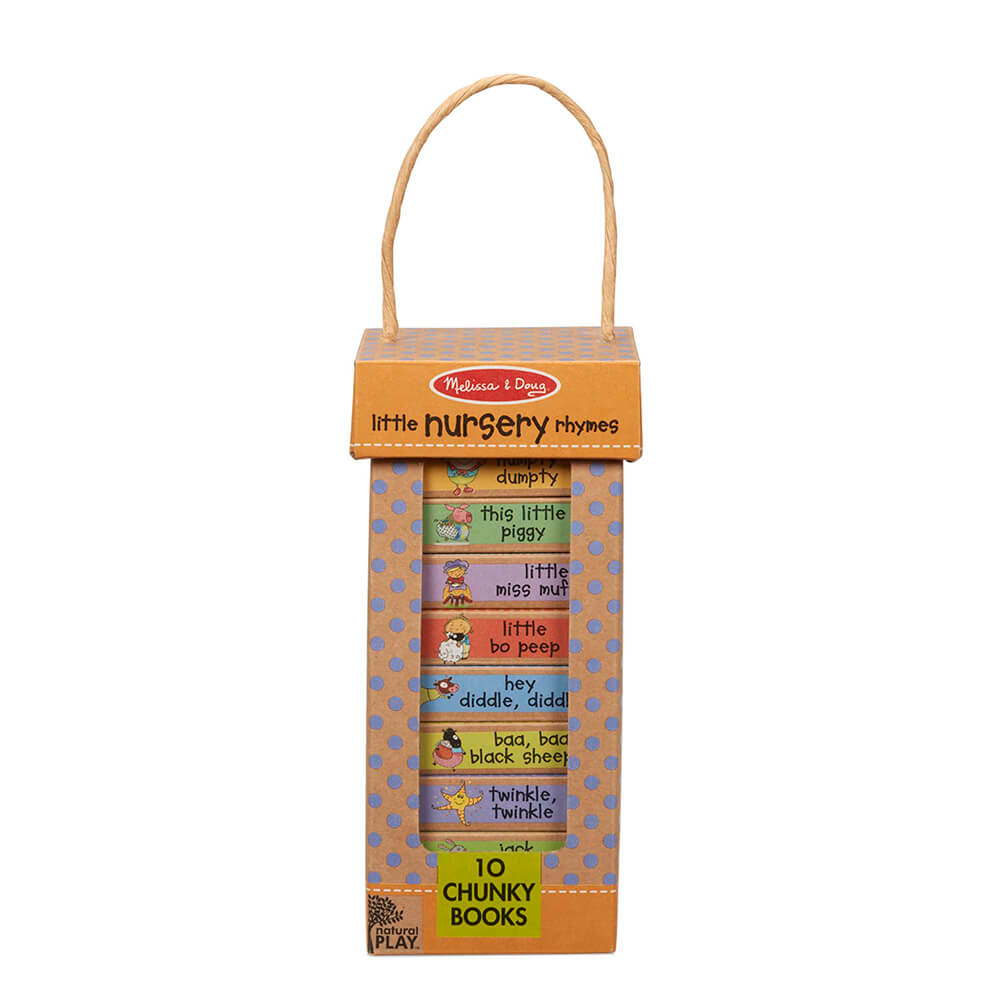 Melissa and Doug Nursery Rhymes Book Tower