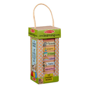 Melissa and Doug Learning Books Book Tower