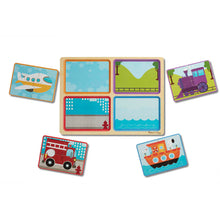 Load image into Gallery viewer, Melissa and Doug Ready-Set-Go! Wooden Puzzle