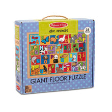 Load image into Gallery viewer, Melissa and Doug ABC Animals Giant Floor Puzzle