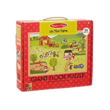 Load image into Gallery viewer, Melissa and Doug On the Farm Giant Floor Puzzle