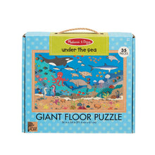 Load image into Gallery viewer, Melissa and Doug Under the Sea Giant Floor Puzzle