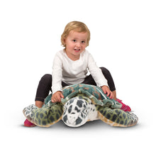 Load image into Gallery viewer, Melissa and Doug Sea Turtle Plush
