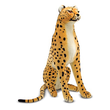 Load image into Gallery viewer, Melissa and Doug Cheetah Plush MOQ2