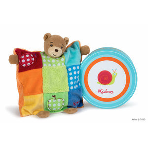 Kaloo Colours Doudou Bear Patchwork
