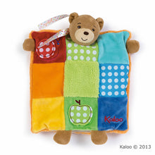 Load image into Gallery viewer, Kaloo Colours Doudou Bear Patchwork