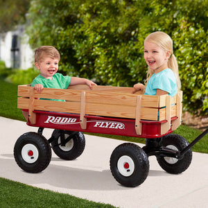 All Terrain Steel & Wood Wagon