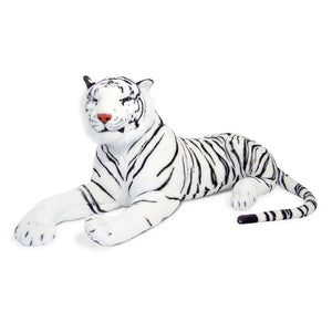 Melissa and Doug White Tiger Plush