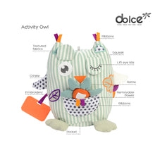 Load image into Gallery viewer, Dolce Primo Activity Owl - STEM Authenticated