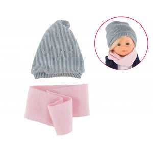 Ma Corolle Hat & Snood Set