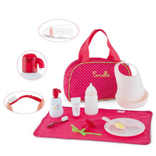 Load image into Gallery viewer, Corolle Red Baby Accessories Set